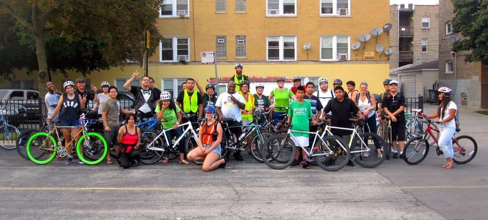 Go Albany Park – Full Moon Fire Jam Ride